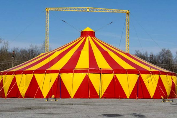 Цирк, тенис кортове и халета 1